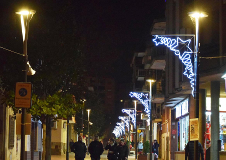 Llums de Nadal al carrer Major