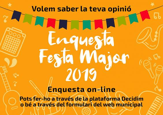 Enquesta Festa Major 2019
