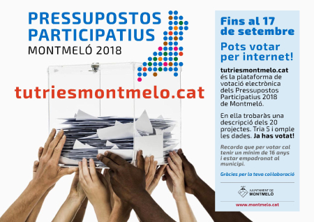 Plataforma tutriesmontmelo.cat