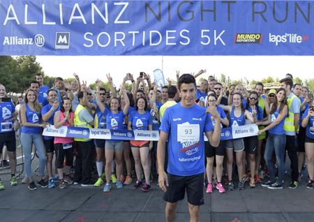 Marc marquez, impulsor de l'Allianz Night Run