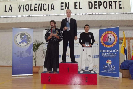 Acadèmia Hapkido Tigre Occidental. Tercer classificar per clubs