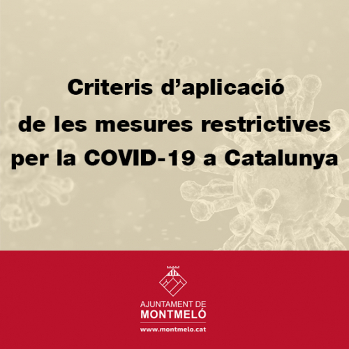 Mesures restrictives